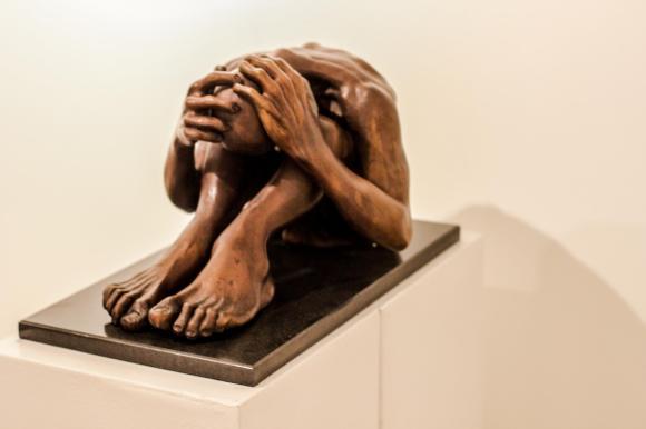 Escultura de Renato Blasch, foto de divulgação da Galeria