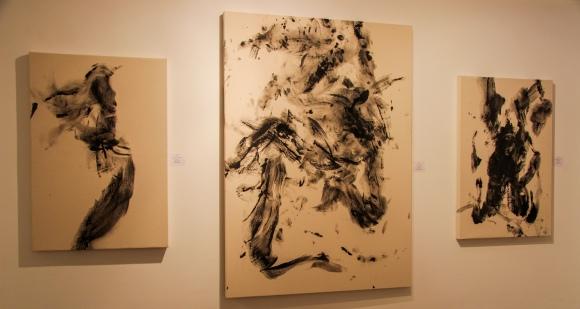 """""""Sudário do meu I""""; II e III de Allann Seabra - o uso do corpo como ferramenta da própria arte"""